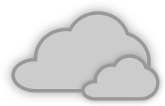 pjamm cycling cloudy weather icon
