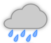 pjamm cycling rain weather icon