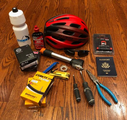 PJAMM Blog Post: Things to Bring on a Cycling Trip