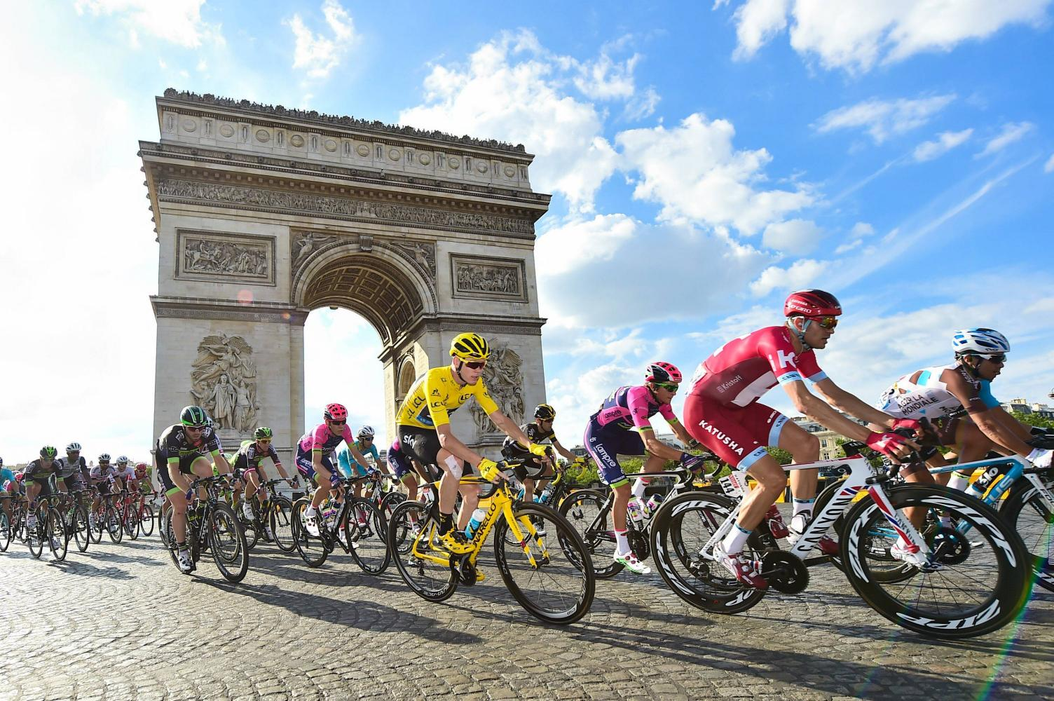 Tour de France - Tour de France - PJAMM Cycling Grand Tour Page