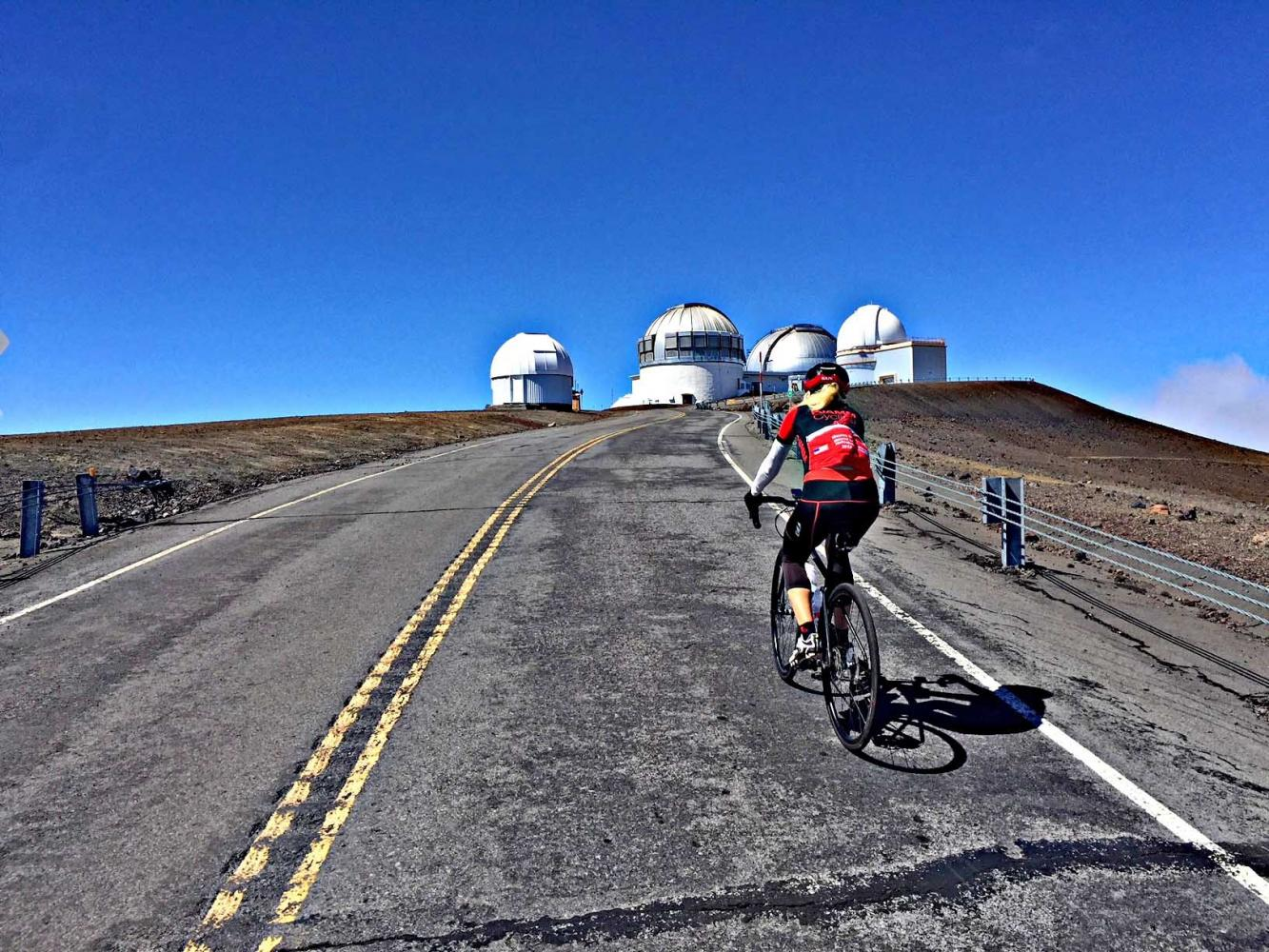 Mauna Kea Bike Climb - PJAMM Cycling