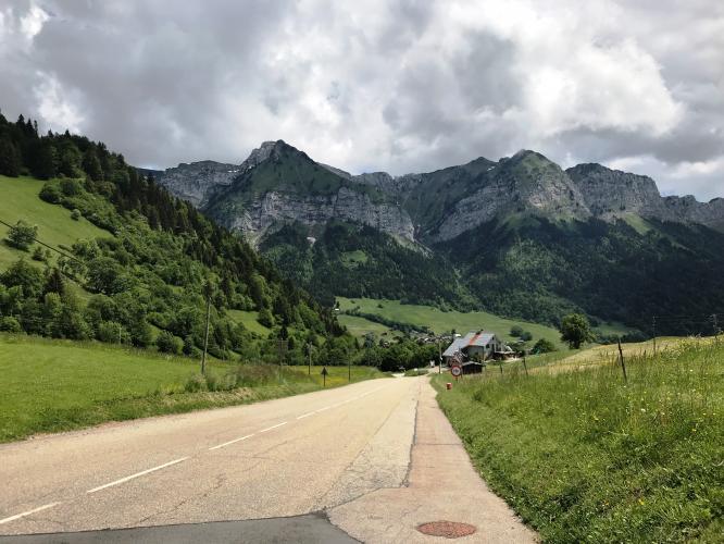 Col de la Forclaz Bike Climb - PJAMM Cycling