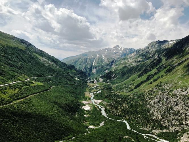 Furkapass - Gletsch Bike Climb - PJAMM Cycling