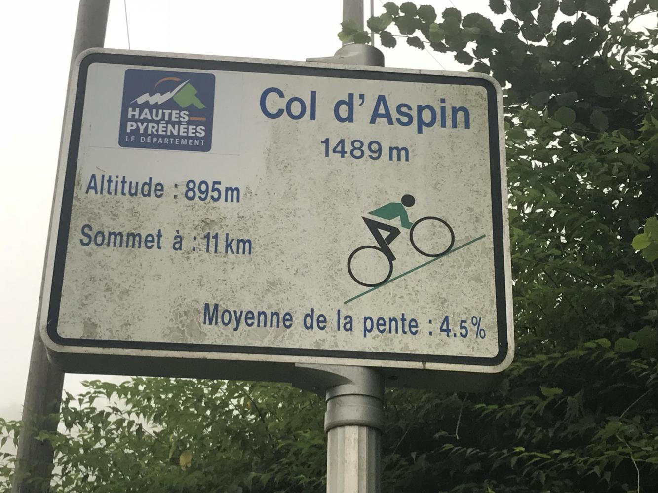 Col d'Aspin - Ste-Marie-de-Campan Bike Climb - PJAMM Cycling