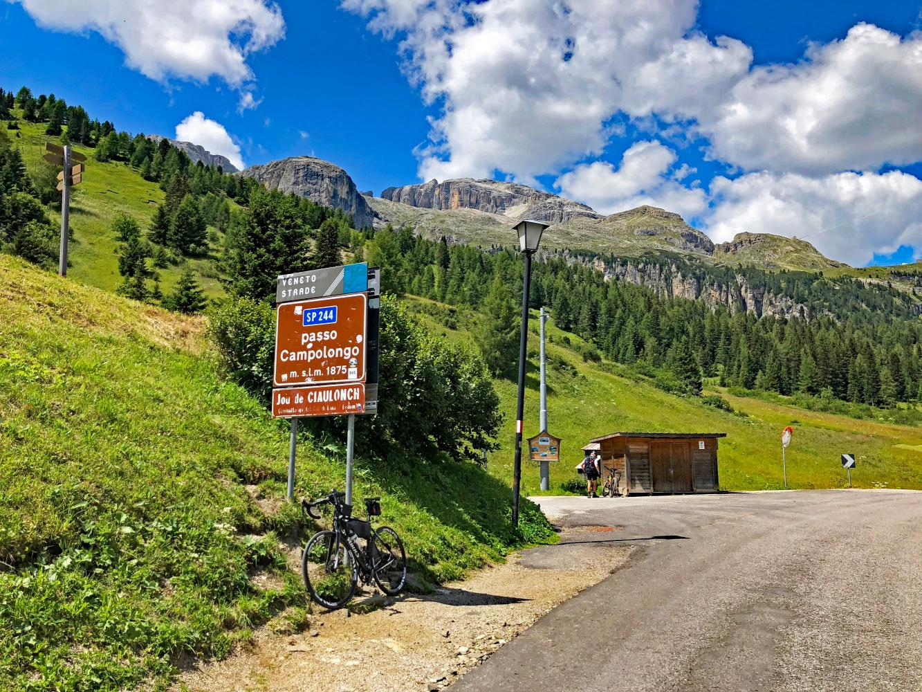 Passo Campolongo - Arabba Bike Climb - PJAMM Cycling