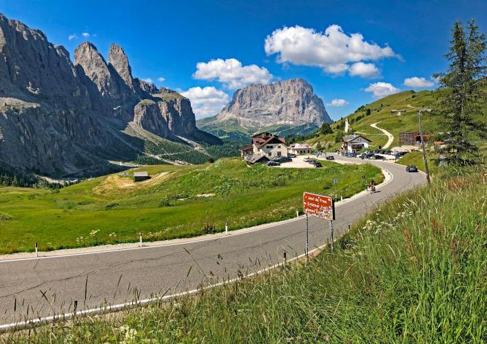Passo Gardena - Plan De Gralba Bike Climb - PJAMM Cycling