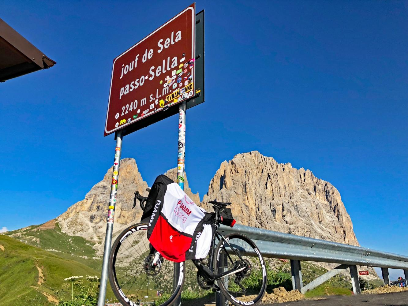Passo Sella Canazei Bike Climb - PJAMM Cycling