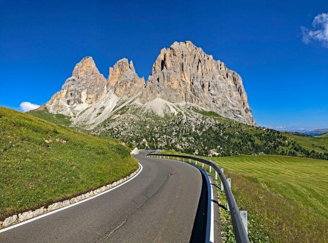 Passo Sella - Plan De Gralba Bike Climb - PJAMM Cycling
