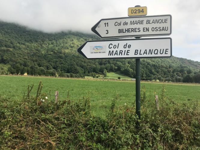 Col de Marie-Blanque - Bielle Bike Climb - PJAMM Cycling