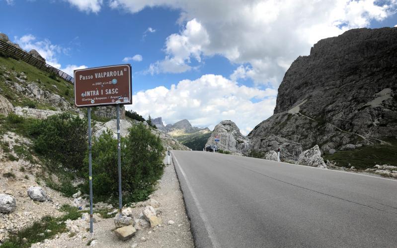 Passo Valparola - Caprile Bike Climb - PJAMM Cycling