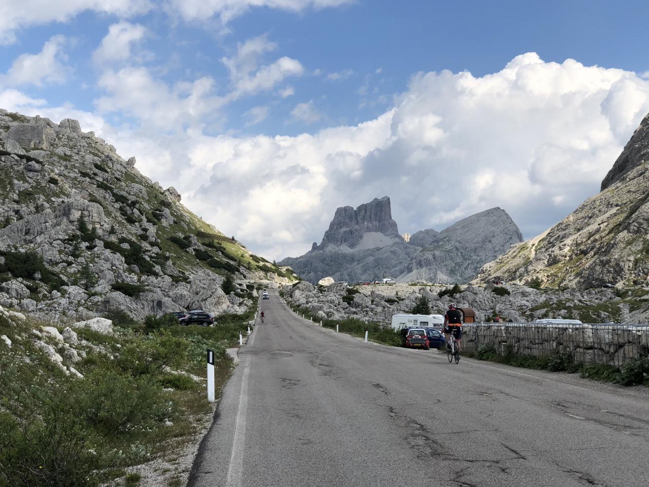 Passo Valparola - La Villa Bike Climb - PJAMM Cycling