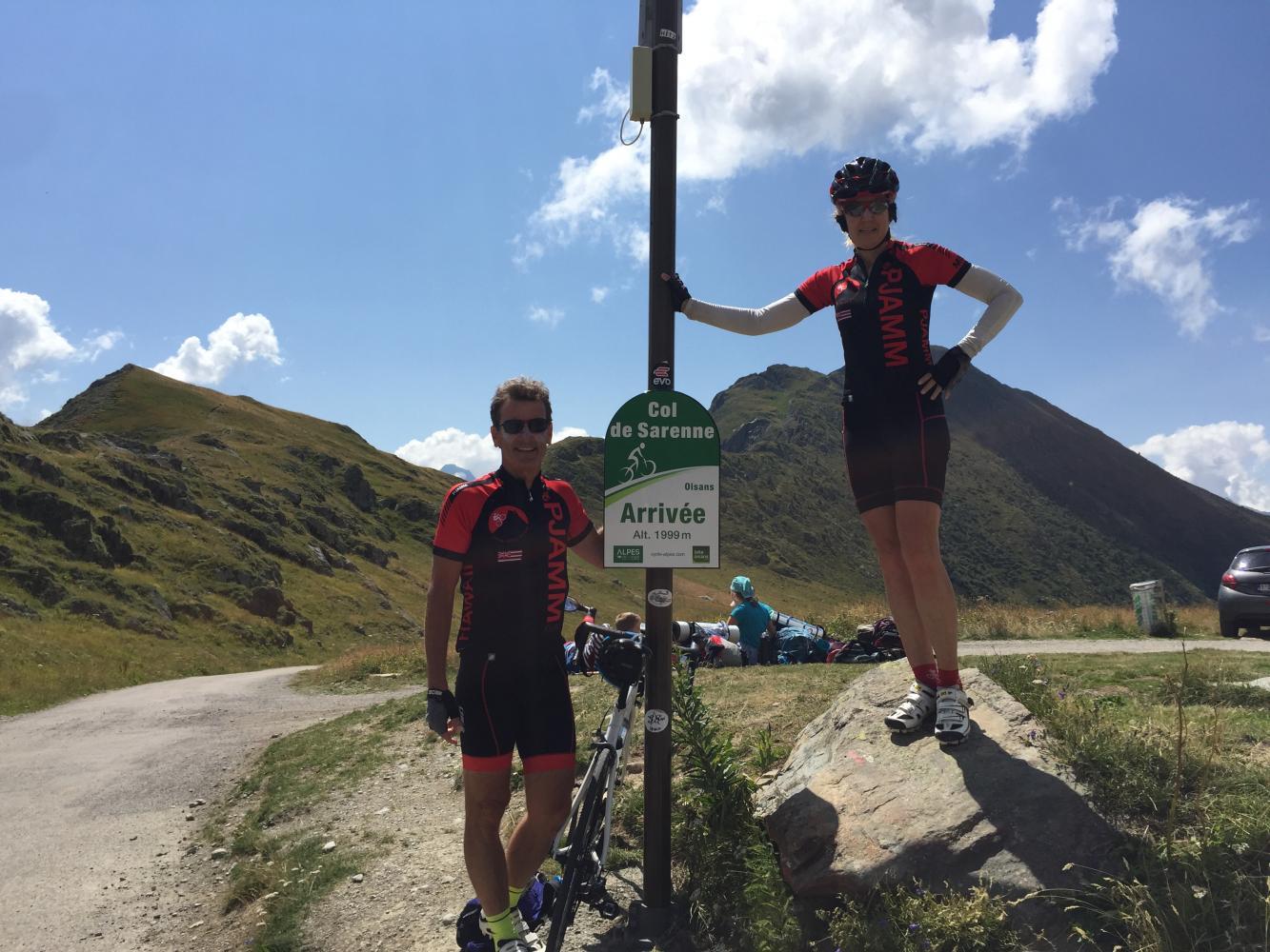 Col de Sarenne - Ouest Bike Climb - PJAMM Cycling