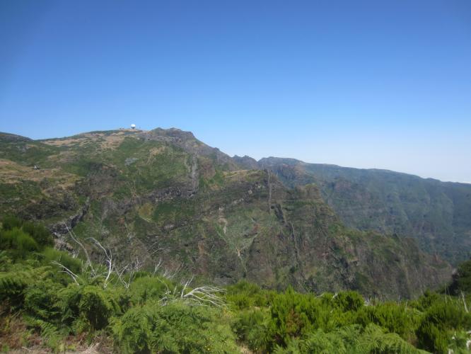 Pico Arieiro - Easier Route Bike Climb - PJAMM Cycling