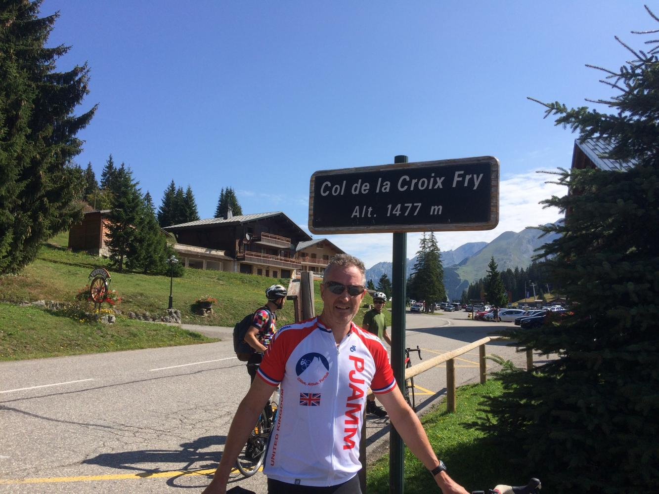 Col de la Croix Fry Bike Climb - PJAMM Cycling
