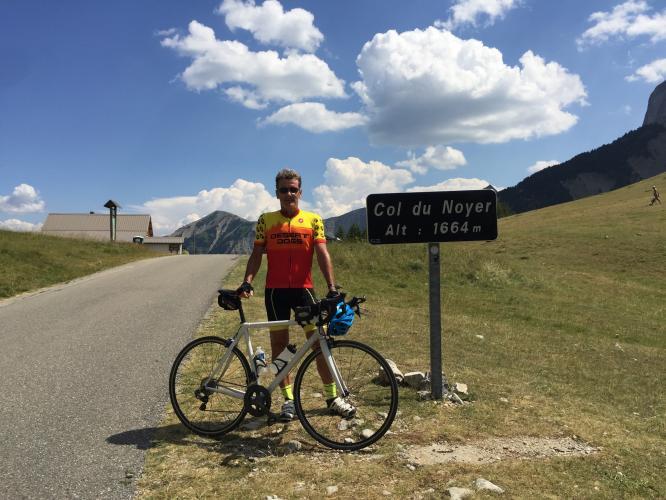 Col du Noyer (St-Disdier) Bike Climb - PJAMM Cycling