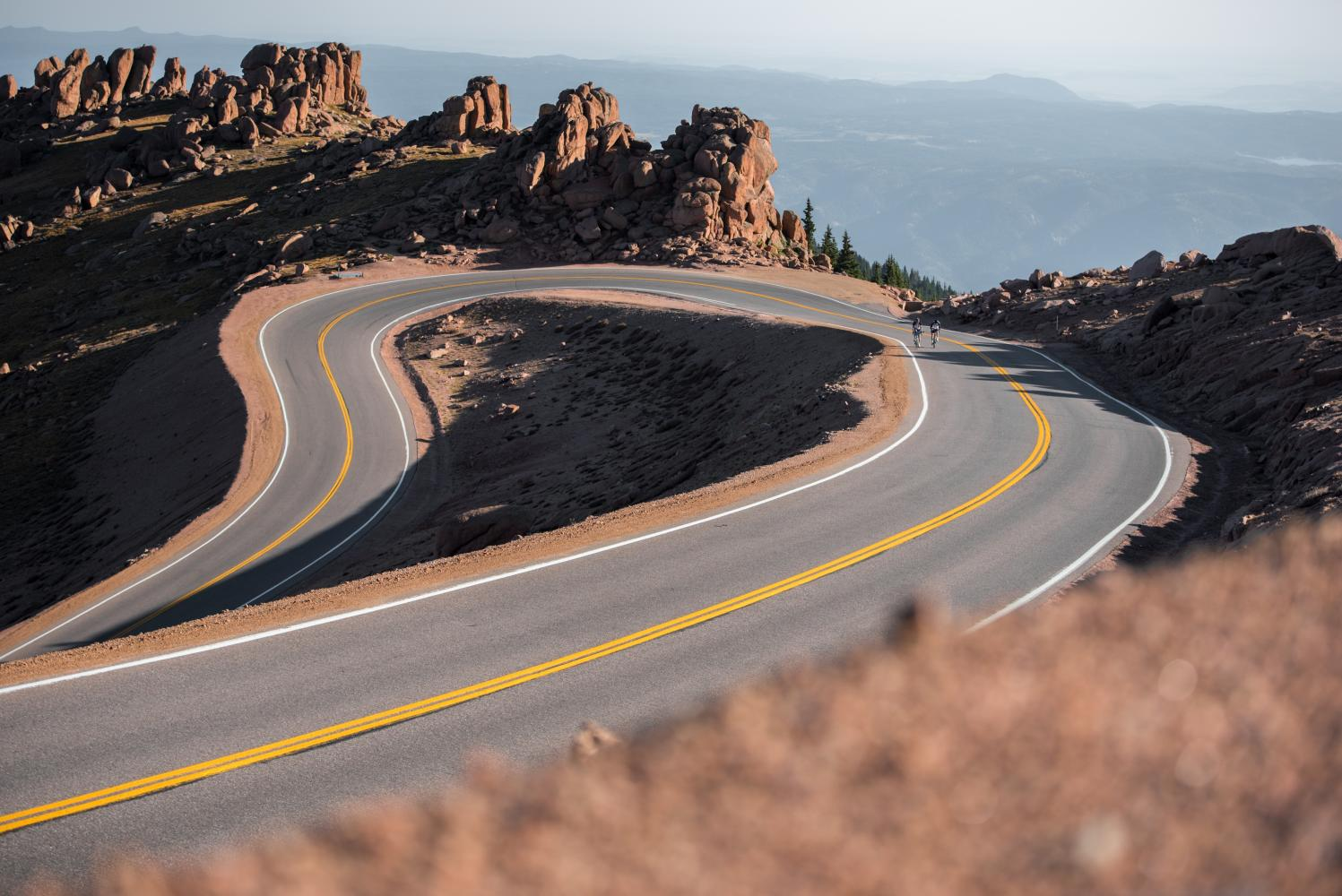 Pikes Peak Bike Climb - PJAMM Cycling