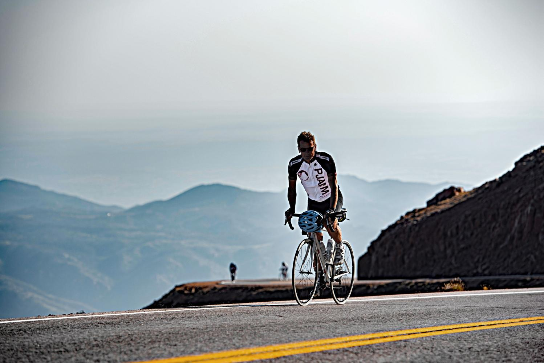 Pikes Peak Bike Climb - PJAMM Cycling
