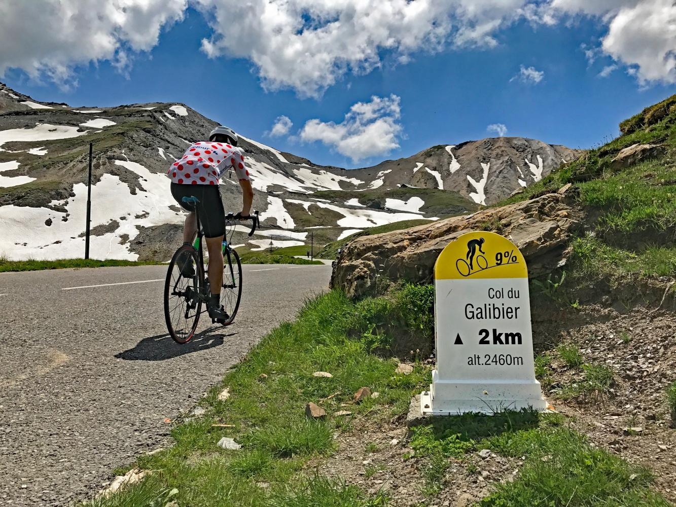 Cols du Télégraphe & Galibier Bike Climb - PJAMM Cycling