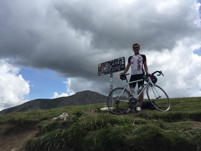 Cayolle-Allos-Champs Bike Climb - PJAMM Cycling