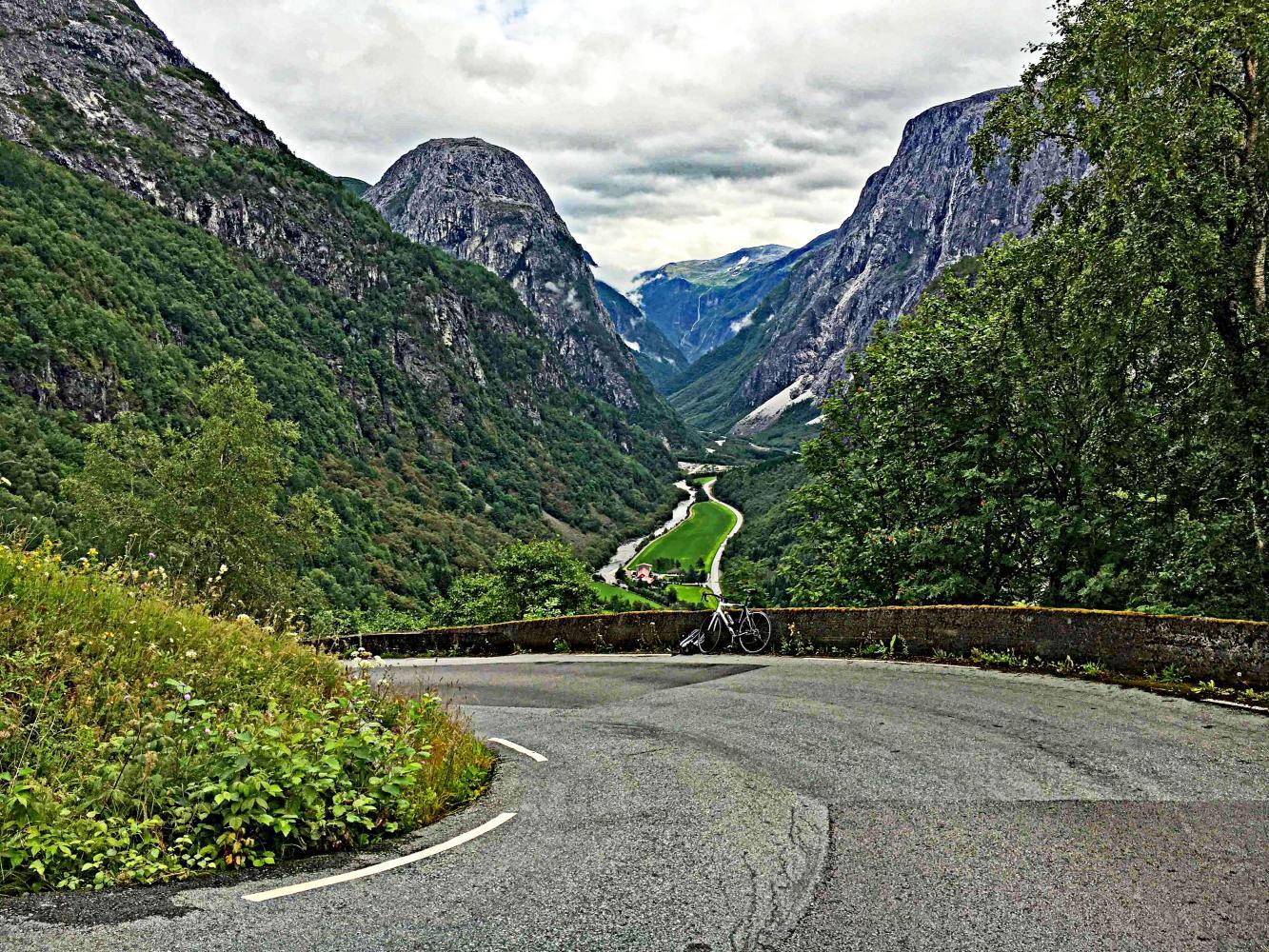 Stalheimskleiva Bike Climb - PJAMM Cycling
