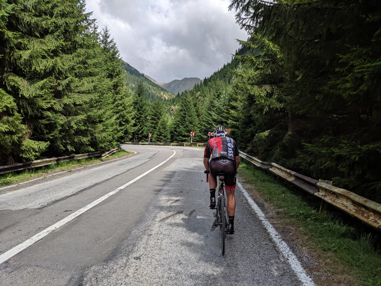 Transfagarasan South Bike Climb - PJAMM Cycling