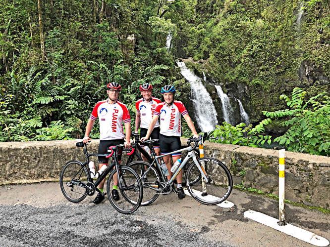 The Road to Hana Bike Climb - PJAMM Cycling