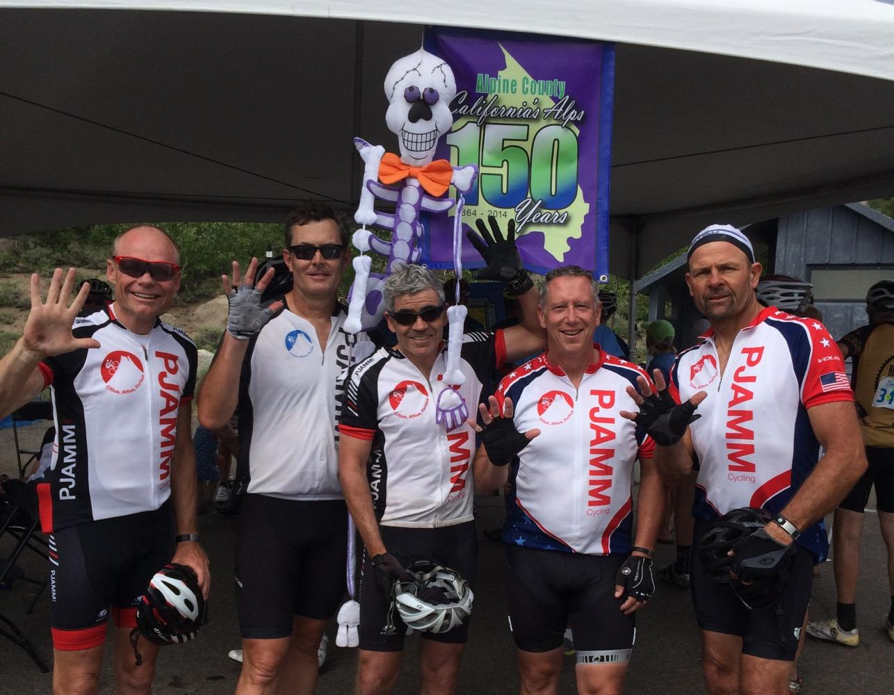 Death Ride, Markleeville Bike Climb - PJAMM Cycling