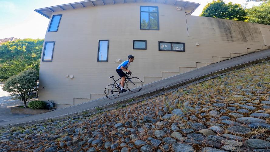 Broderick Street Bike Climb - PJAMM Cycling