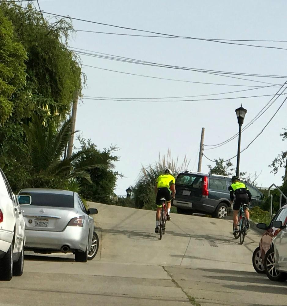 Bradford & Tompkins  Bike Climb - PJAMM Cycling