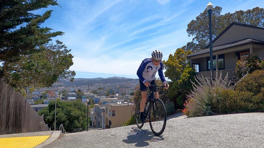 Prentiss Bike Climb - PJAMM Cycling