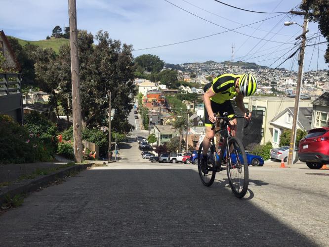 Ripley Street Bike Climb - PJAMM Cycling