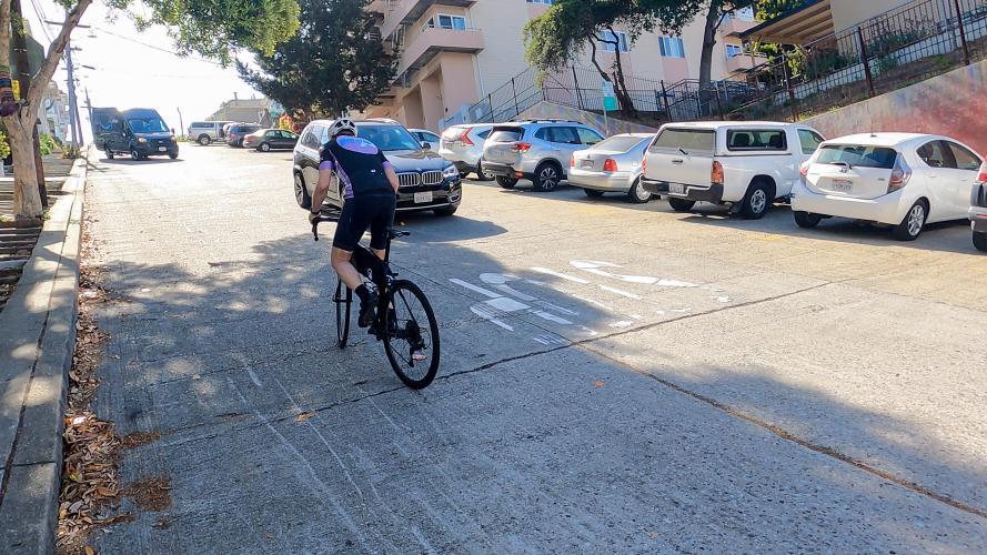 22nd Street Bike Climb - PJAMM Cycling