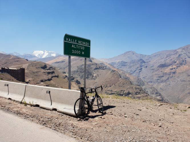 Valle Nevado Bike Climb - PJAMM Cycling