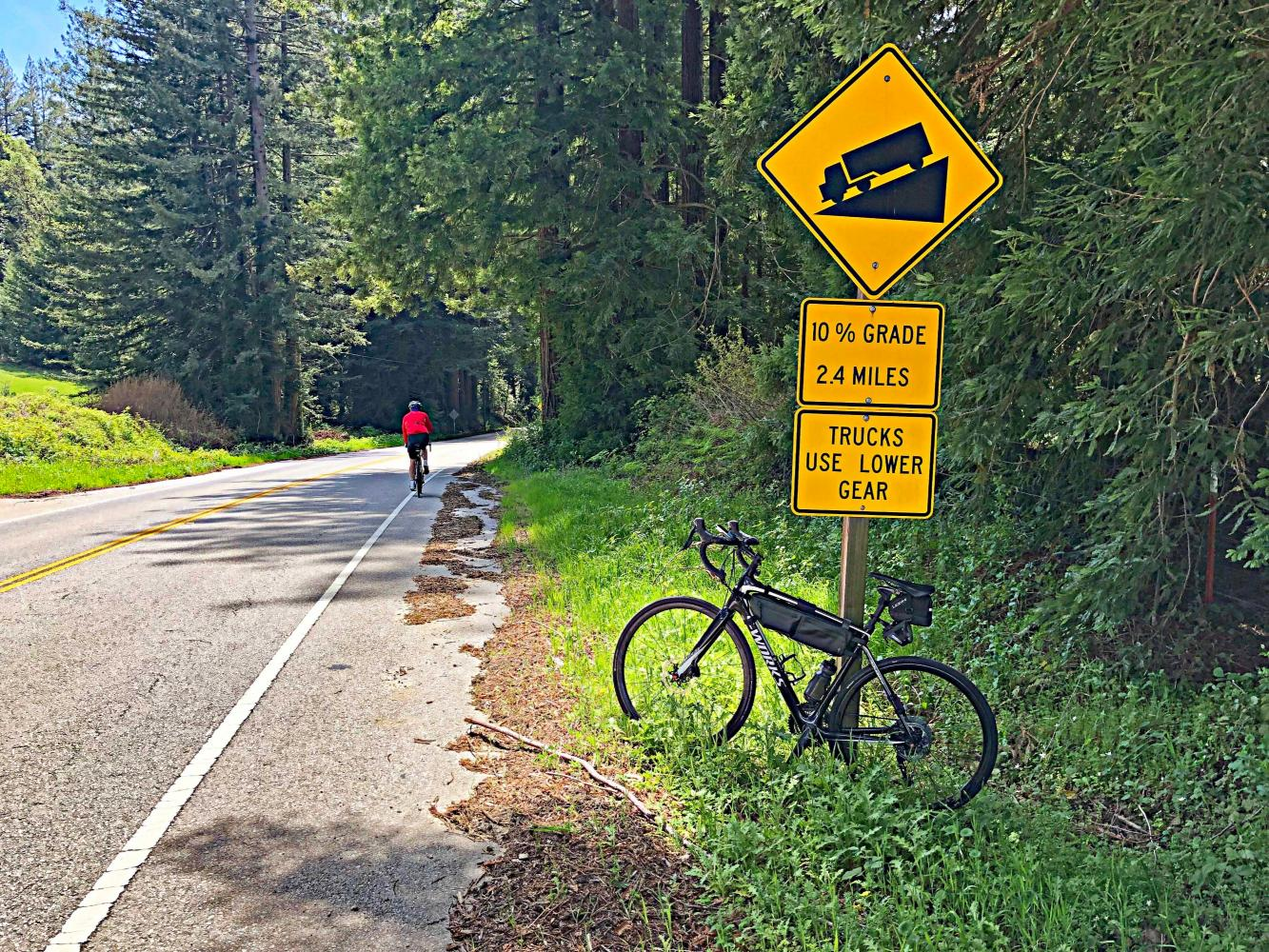 Bonny Doon Bike Climb - PJAMM Cycling