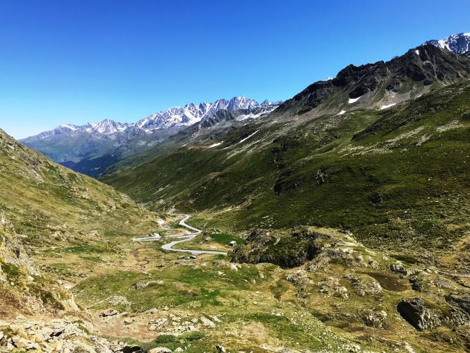 Col du Grand St. Bernard Bike Climb - PJAMM Cycling