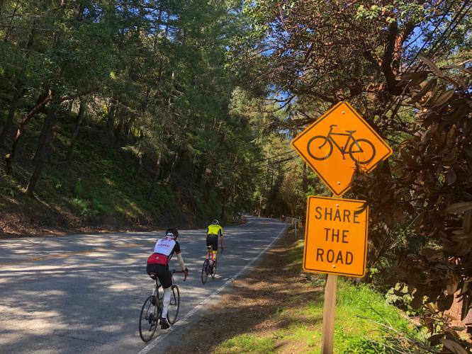 Hwy 9 - Saratoga to Skyline Bike Climb - PJAMM Cycling