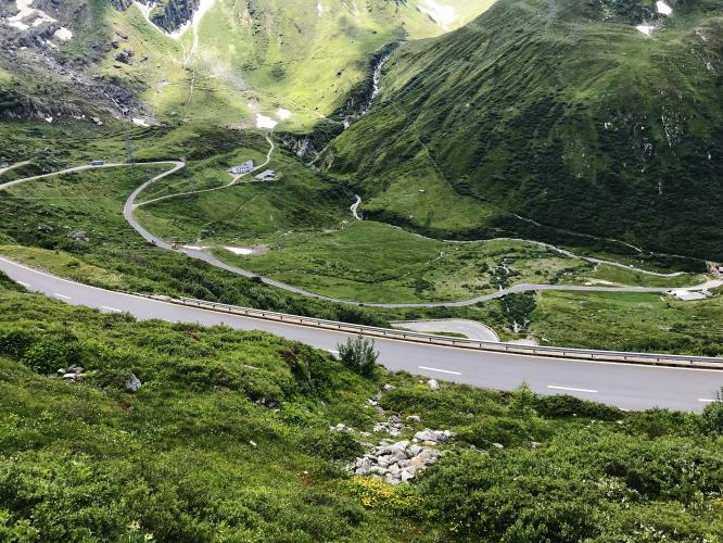 Nufenen Pass West Bike Climb - PJAMM Cycling