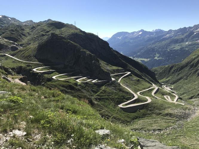 Gotthard Pass Bike Climb - PJAMM Cycling