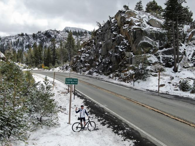 Carson Pass West Bike Climb - PJAMM Cycling