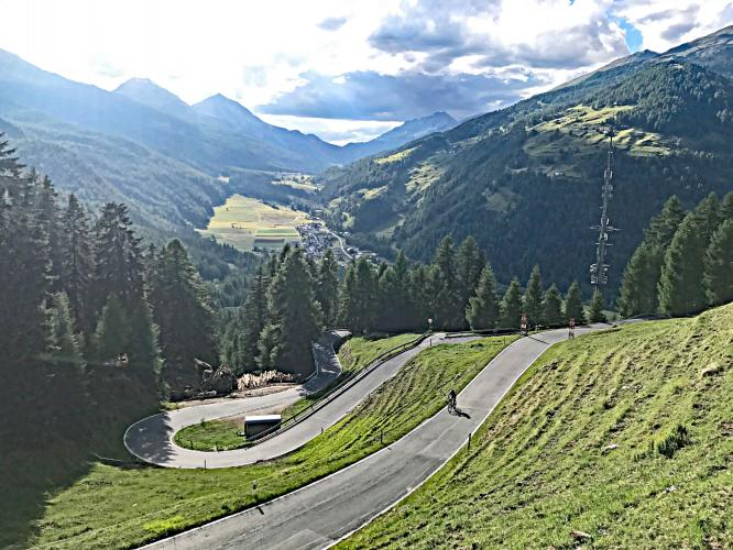 Passo Stelvio via Umbrail Bike Climb - PJAMM Cycling
