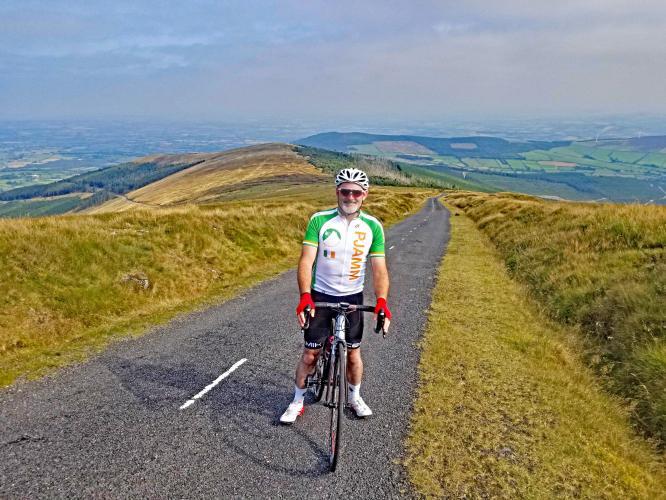Mount Leinster, West Bike Climb - PJAMM Cycling