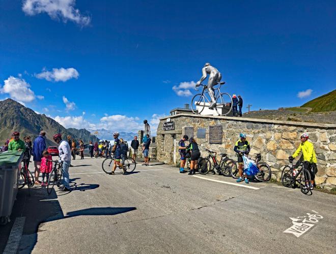 Col du Tourmalet - Campan Bike Climb - PJAMM Cycling