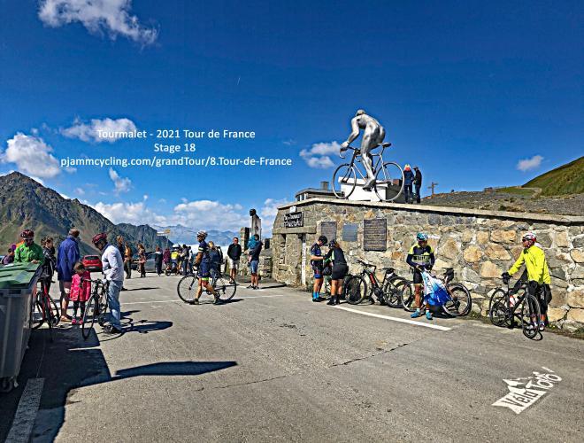 Col du Tourmalet - Sainte Marie de Campan Bike Climb - PJAMM Cycling