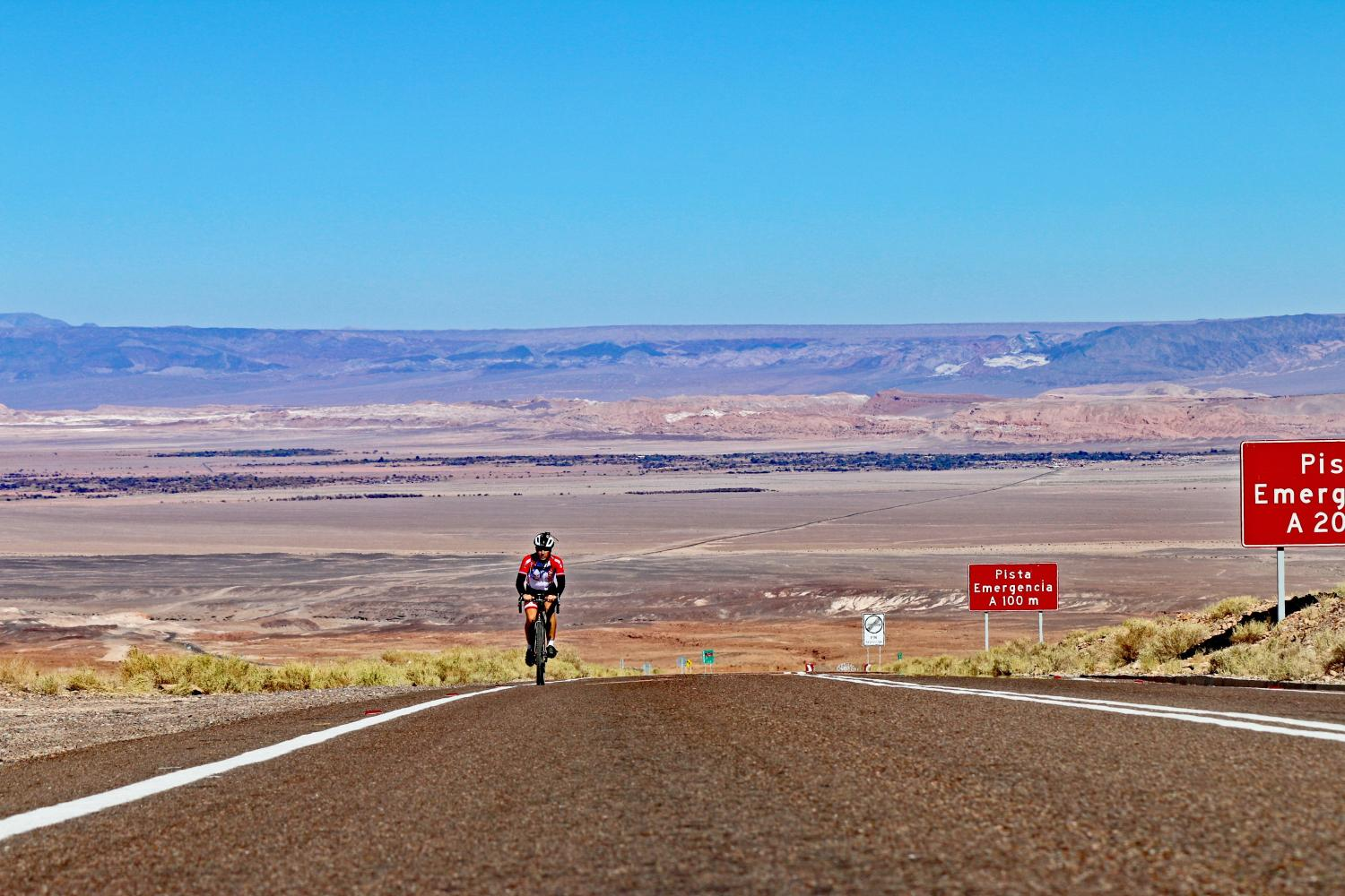 Hwy 27 - Atacama  Bike Climb - PJAMM Cycling