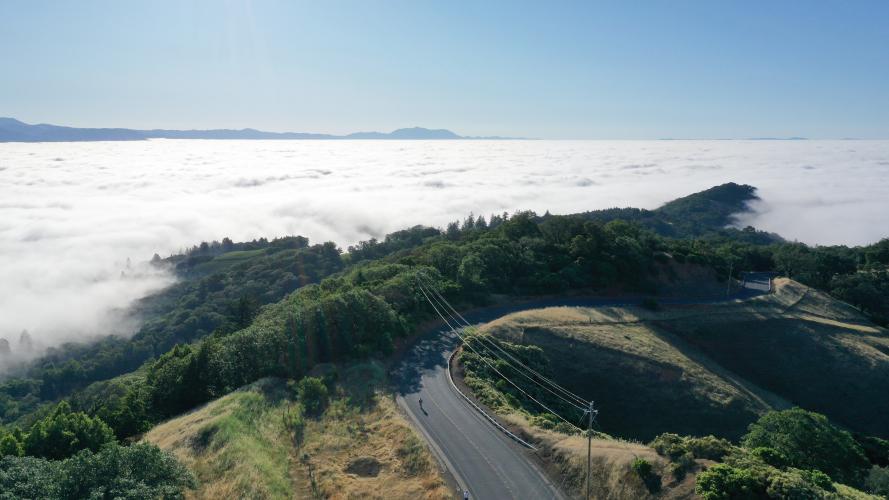 Skaggs Springs Road-Stewarts Point Loop Bike Climb - PJAMM Cycling