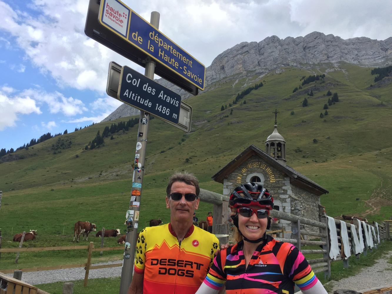 Col des Aravis North Bike Climb - PJAMM Cycling