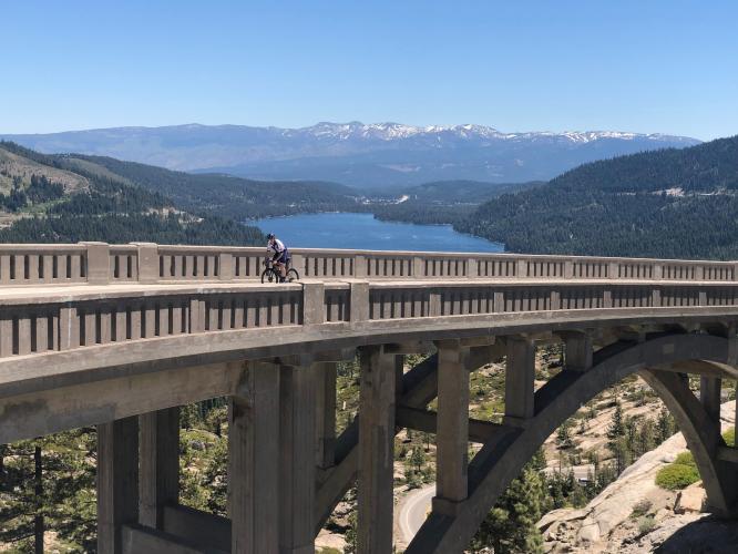 Donner Summit Bike Climb - PJAMM Cycling