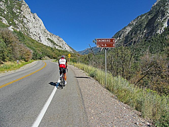 Little Cottonwood Canyon Bike Climb - PJAMM Cycling