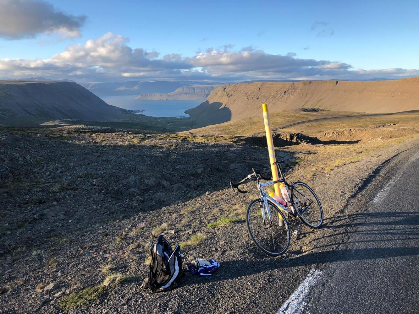 Halfdan North Bike Climb - PJAMM Cycling