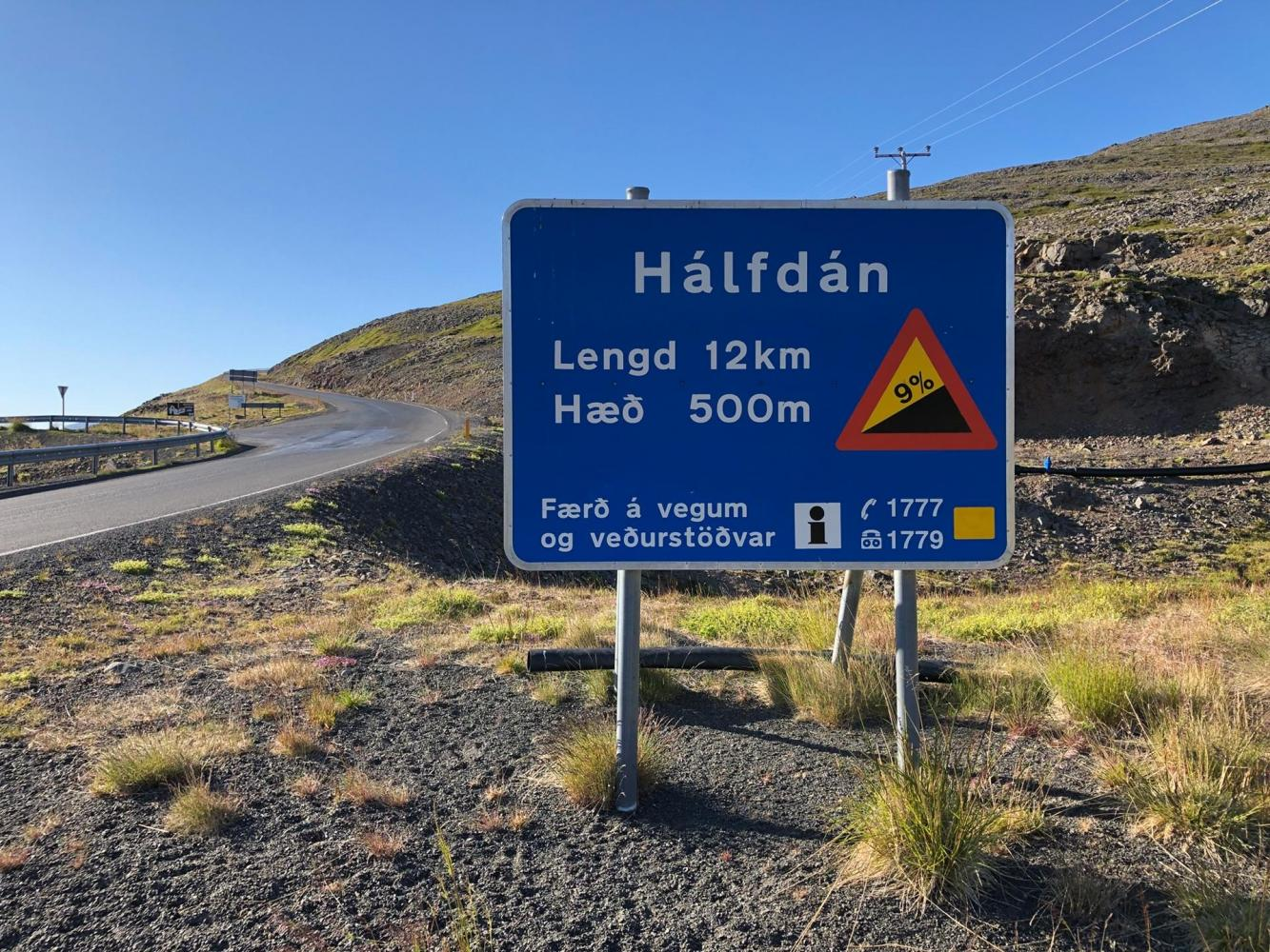 Halfdan South Bike Climb - PJAMM Cycling
